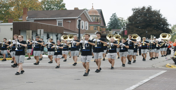 Pioneer marching band buys 200 new uniforms