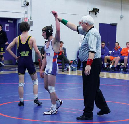 Wrestlers compete at regionals, Ferguson advances