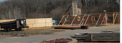 Culver's construction begins