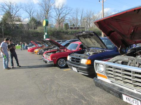 Automotive Enthusiasts Club hosts spring car show