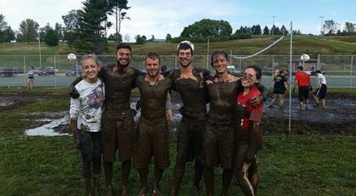 Mud Volleyball hosts 200 competitors