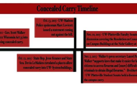 Student Senate talks guns