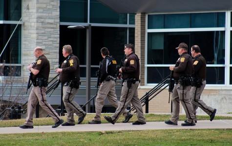 Alleged firearm sighting