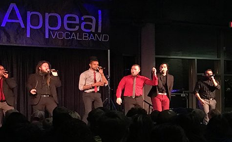Six Appeal gets standing ovation at acapella night