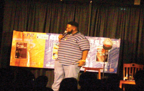 BET comic performs at UW-P