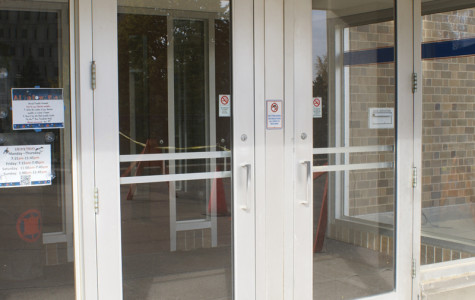 Karrmann Library's south entrance was reopened after a student spoke to Student Senate leaders about the inconvenience it brought her and nearly 300 more students who signed a petition.