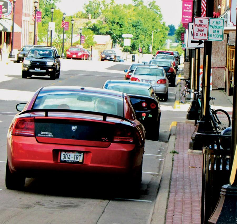 Main Street patrons are subject to a two-hour parking limit, causing difficulty for some business owners.