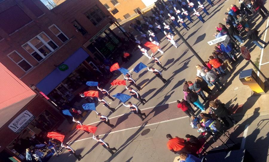 Platteville's Homecoming Parade