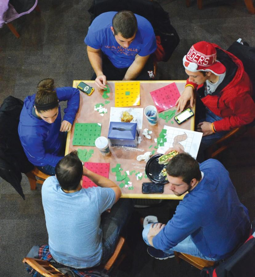 Campus Programming and Relations hosts Hunger Game Bingo in the Markee Pioneer Student Center Nov. 18