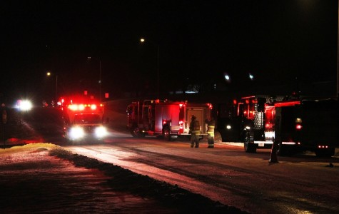 Emergency Services respond to Greenwood accident