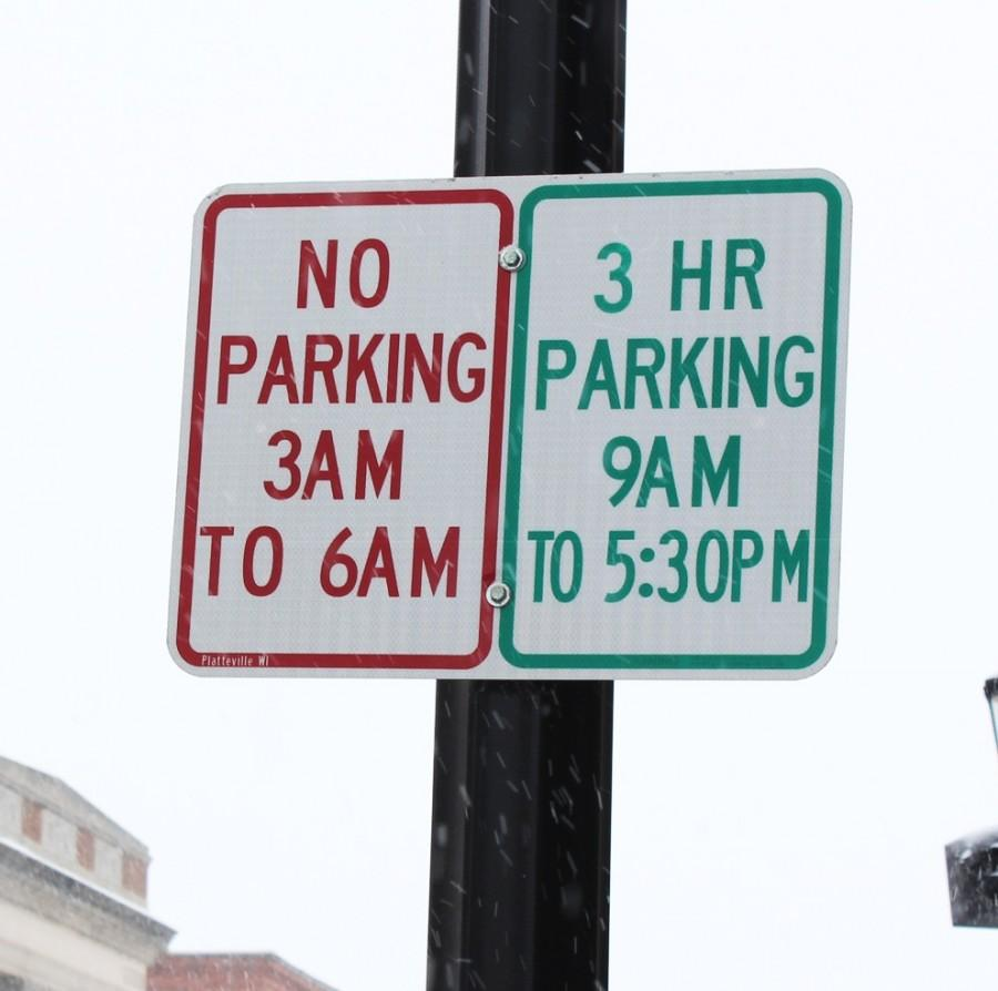 Two-hour parking signs were replaced with updates on Main and side streets. Signs allow flexibility for downtown business patrons.