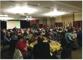 Diversity celebrated  at International Night Dinner