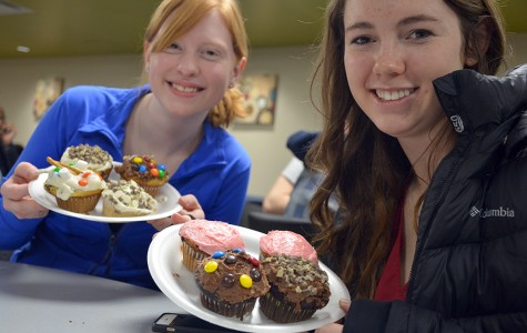 Students get chocolate battered