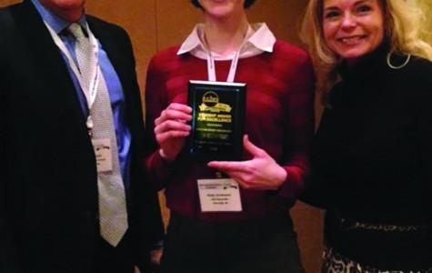 Student wins award for documentary