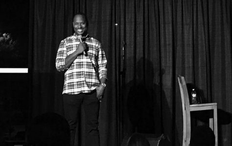 Arvin Mitchell brings laughter to UW-Platteville