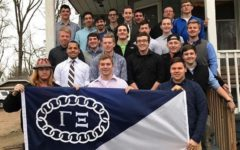 Fraternity assists community