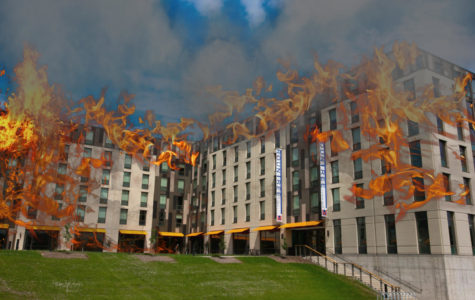 Students attempt to set Rountree Commons ablaze
