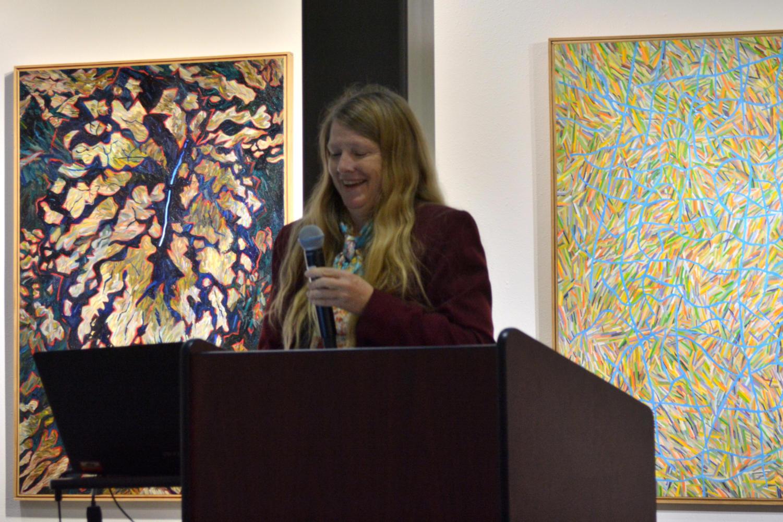 Professor Teresa Burns seaks on Native American culture.