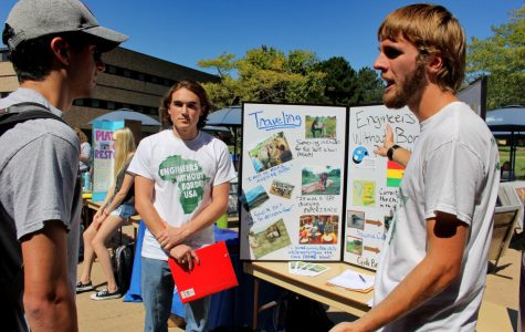 Involvement Fair Kicks off the year