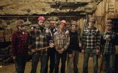 Sigma Pi haunts the mine for halloween
