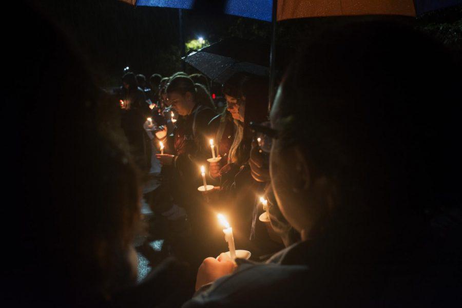 Platteville commemorates Matthew Shepard with candlelight vigil