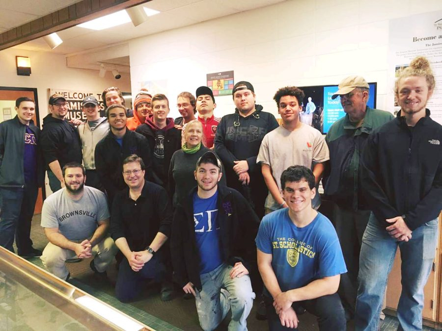 Sigma Pi mines for history at the museum