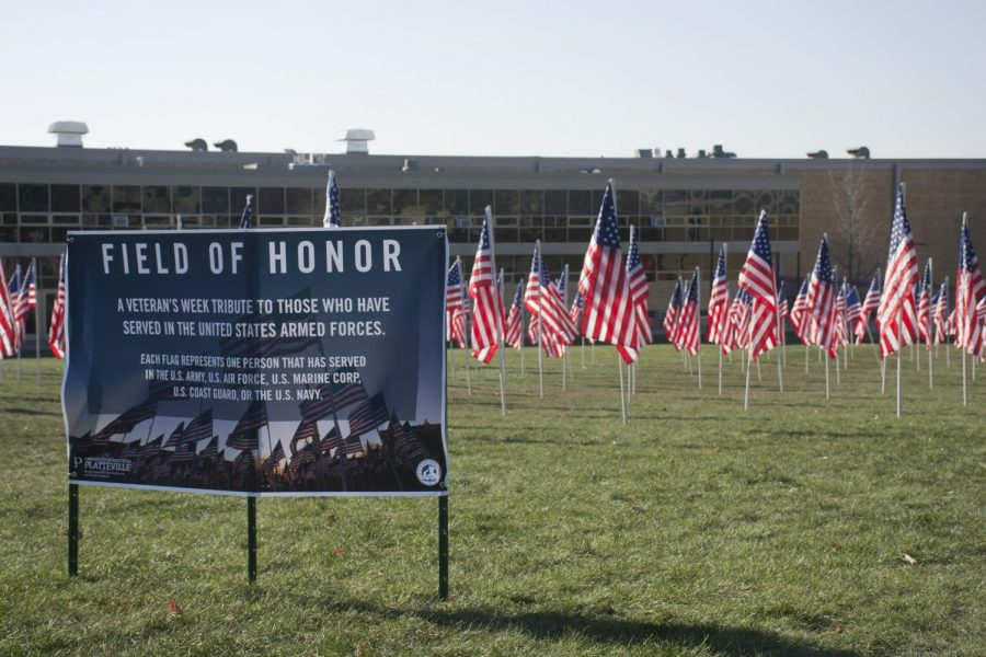 Pioneers honor military students and alumni