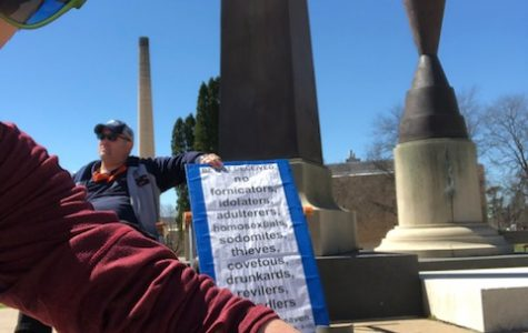 Editorial: Protesting traveling campus preacher