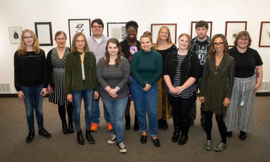 Students+read+work+at+Creative+Writing+Festival