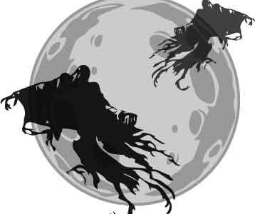 MOONS HAUNTED: Scary ghost monsters on moon