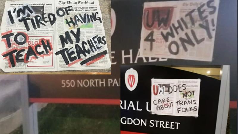 UW-Madison minority students speak out