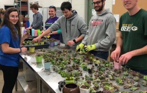 Horticulture Club Brings Spring to Campus early