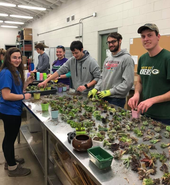 Horticulture+Club+Brings+Spring+to+Campus+early