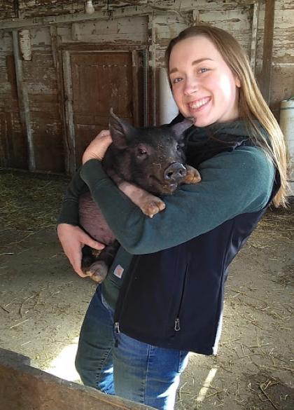 On the farm with Anna Evenson