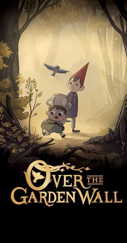 "Official promotional poster for ""Over The Garden Wall"""