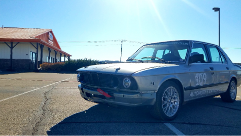 Automative Enthusiasts Club owned  1985 BMW 525e with a swapped 353i motor