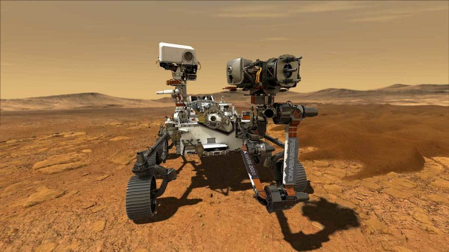 This+illustration+depicts+NASAs+Perseverance+rover+operating+on+the+surface+of+Mars+-+from+nasa.gov