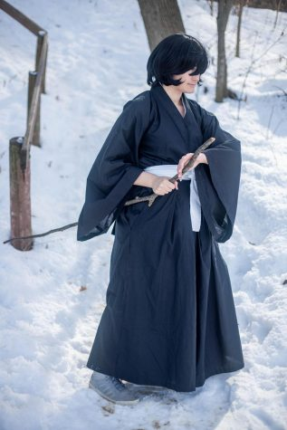 Rukia Kuchki from Bleach (photo credit: Artistic Panda Photography)