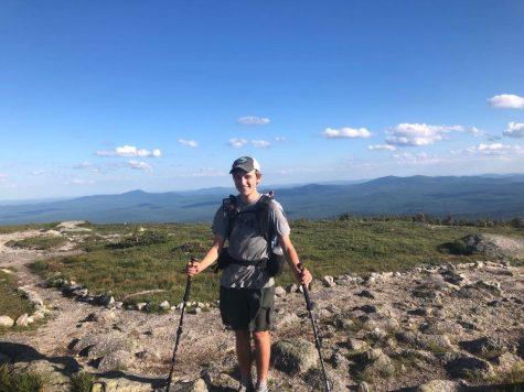 Josh Wood posing in Maine, Josh Wood photo